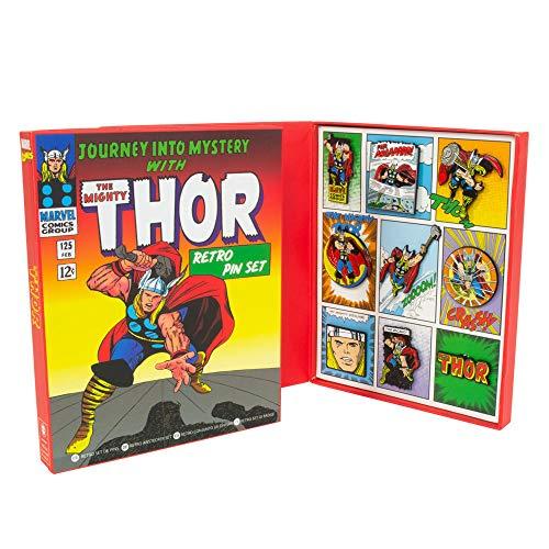 Marvel Avengers: Thor Retro Pin Set