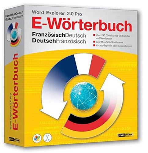 Word Explorer 2.0 Pro Französisch/Deutsch, Deutsch/Französisch [import allemand]