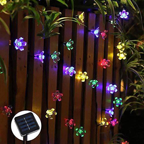 Meiye-TYN LED Solar tuinlandschap lamp string bruiloft tuindecoratie vakantie energiebesparende lantaarn