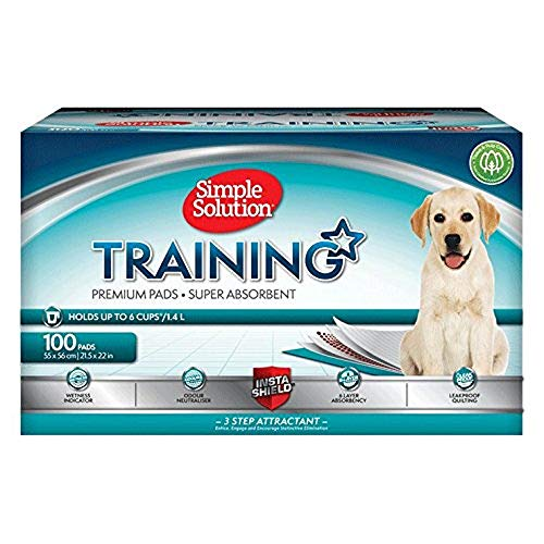 simple solutions puppy training pads 100 pack