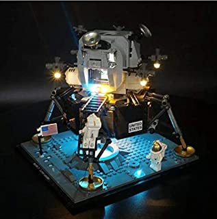 LED Light Kit For Lego 10266 NASA Apollo Lunar Lander (Lego Set Not Included)