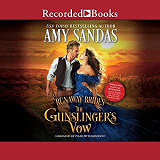 The Gunslinger's Vow                   By:                                                                                                                                 Amy Sandas                               Narrated by:                                                                                                                                 Pilar Witherspoon                      Length: 11 hrs and 14 mins     5 ratings     Overall 4.4