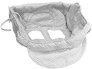 LUERME ショッピングカートカバー 子供用クッション クッション ショッピングカートカバー 子供トロリーカバー 多機能 折りたたみ式 椅子カバー 保温 児童保護クッション ベビー用 赤ちゃん 男児 女児 乳児 幼児用 パッドプッシュ ポータブル