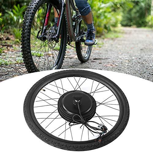 AYNEFY Ruota Anteriore Bicicletta 48 V 1000 W Bicicletta Elettrica Ruota Anteriore Kit di Conversione Motore Elettrico Bicicletta Kit di Conversione per Ruota 26 Pollici