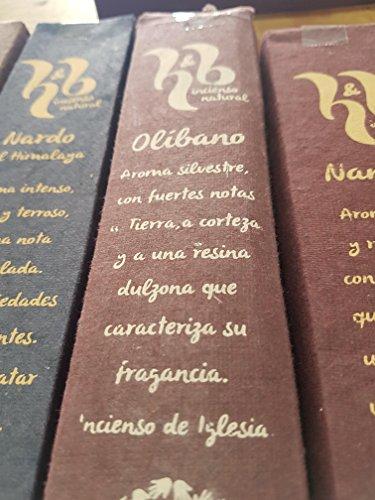Qaromas Incienso Natural H&B Olíbano 15g
