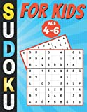 Sudoku For Kids Age 4-6: kids soduko puzzle book, brain teasers for children, 200 Grids with instructions and solutions, gift for girls boys