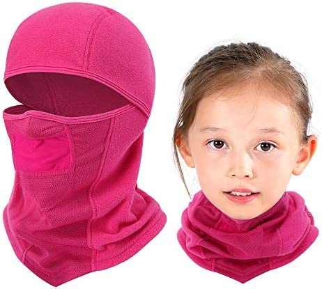 Breathable Kids Balaclava Ski Mask Waterproof Face Mask for Boys Girls Youth Red product image