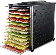 12 déshydrateur plateau avec affichage numérique, tous les réglages de température de la machine de séchage de fruits en a...