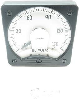 WESCHLER INSTRUMENTS 691B672A15 Panel Meter 0-150V-DC D600084