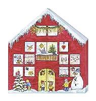 """Il calendario dell'Avvento """"casette per gnomi"""" contiene 24 simpatici gnomi con passante per appenderlo. Così il periodo natalizio viene addolcito anche senza cioccolato... Calendario con personaggi già assemblati da appendere, per tutti gli appassion..."""