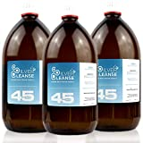 SilverCleanse Colloidal Silver 45ppm Triple Pack (3x 500ml Glass Bottles & T/E Cap)