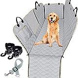 DHYBDZ Coprisedile per Auto per Elementi Essenziali per Il Viaggio del Cane, Amaca per Animali Domestici con Finestra in Rete e Cintura di Sicurezza per Animali Domestici, Protezione per Sedile SUV