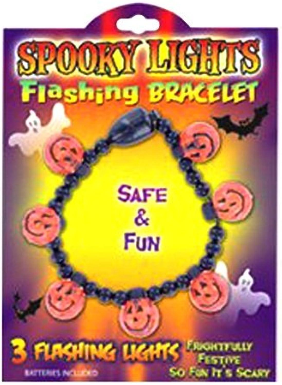 Jack O Lantern Flashing Bracelet
