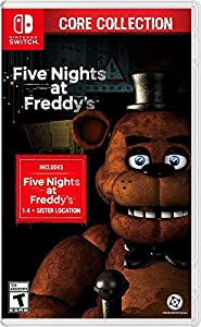 2 Years Of Freddy - The Core Collection includes the first 5 titles that started it all: Five Nights at Freddy's, Five Nights at Freddy's 2, Five Nights at Freddy's 3, Five Nights at Freddy's 4, and Five Nights at Freddy's: Sister Location Celebrate ...