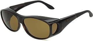 Haven Fits Over Sunwear Meridian Over-Prescription Sunglasses,Tortoise Frame/Amber Lens,one size