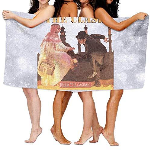 AGSIGGS The Clash Rock The Casbah - Toalla de baño, diseño de The Clash Rock