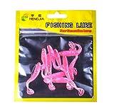 Koojawind10 Pz Morbido Silicone Vermi della Farina Maggot Grub Verme Esche da Pesca Verm...