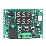 YOPOTIKA Digital Cc 12V Pantalla LED Dual Controlador de Temperatura Sensor Relé Módulo Interruptor Termostato