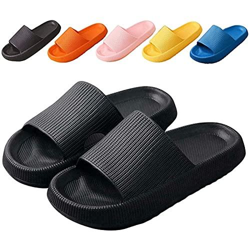 GYYlucky Zapatillas Antideslizantes, Zapatillas con Plataforma, Sandalias Zapatillas De Verano Antideslizantes Hombre Mujer Zapatos De Playa Zapatillas De Baño Toboganes De Ducha