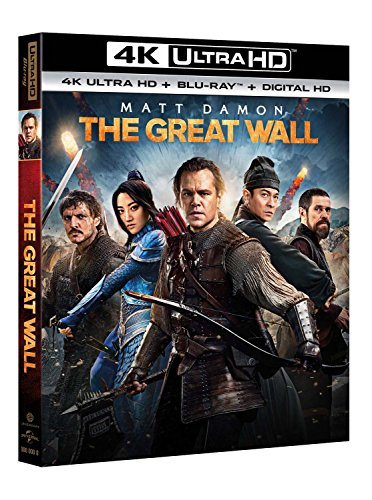 The Great Wall (4K Uhd+Blu-Ray) La Grande Muraille [Import]