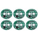 Byged Super Condensador, 6 Unids/Set Super Farad Capacitor 2.5V con Placa de Protección Placa de Límite del Módulo