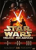 Star Wars Trilogie: Der Anfang - Episode I-III [3 DVDs] - Christopher Lee