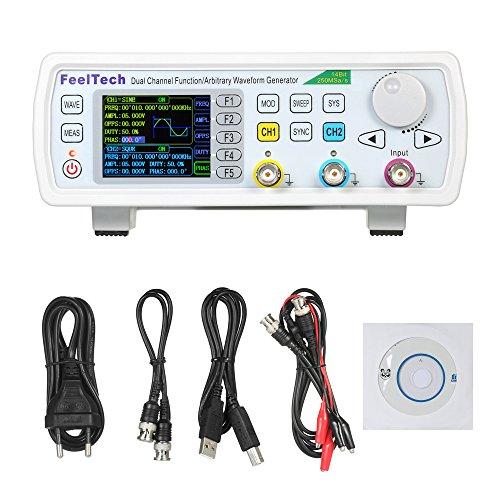 Generador de señal DDS,FeelTech Doble canal Medidor de frecuencia Pulso Fuente de señal,Función de onda arbitraria Señal Generador,AM/FM/PM/ASK/FSK/PSK,60MHz /50MHz /30MHz,FY6600