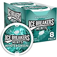 8-Pack Ice Breakers Mints Wintergreen Sugar Free, 1.5 Ounce