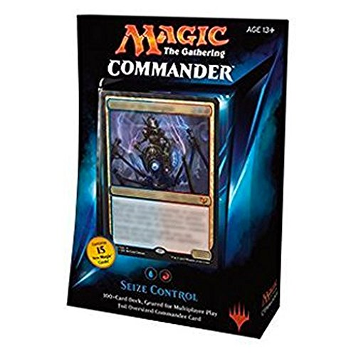 MTG Commander 2015 Edition Magic the Gathering - Seize Control Blue Red Deck New Sealed by Magic: the Gathering