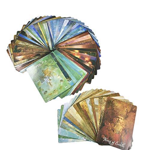 El buen tarot: un mazo de 78 cartas y cartas de guía
