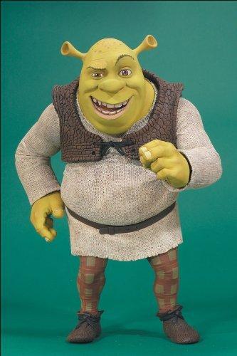 Shrek Super Size 11in Action Figure By McFarlane