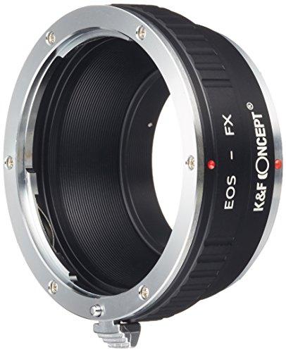 K&F Concept レンズマウントアダプター KF-EFX (キャノンEFマウントレンズ → 富士フィルムXマウント変換)