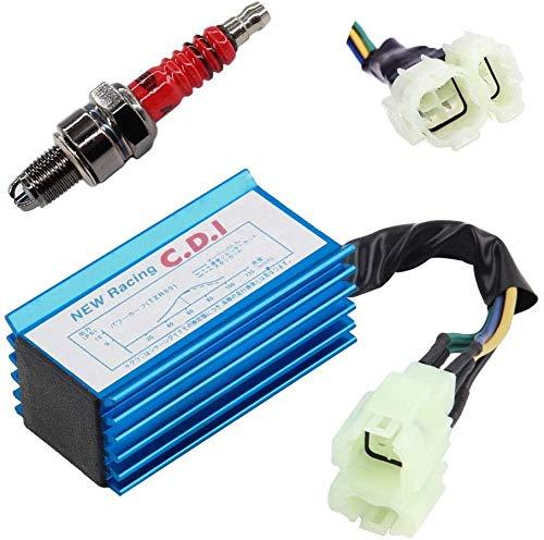 YUSHIJIA Varios Modelos Tuning Open Racing CDI & SPROPPLINT para DAELIM Daystar 125 VT/VL Control Unit Partes y Accesorios