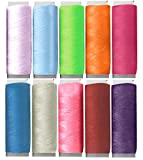 EUROXANTY Hilos de Coser | Bobinas de Colores | Juegos de Hilos | para Coser a Maquina | para Coser a Mano | para Bordados | Resistentes | Poliéster | Surtido 2