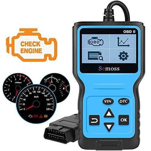 OBD2 Scanner Auto Valise Diagnostic Multimarque,Outils Diagnostics Système Moteur OBD-II pour Lire et Effacer Le Code de Défaut du...