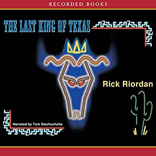 The Last King of Texas audiobook cover art