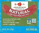 Applegate, Natural Uncured Beef Hot Dog, 10oz