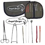 Angel-Berger Hechtwerkzeugkit mit Tasche Werkzeugset Angelset