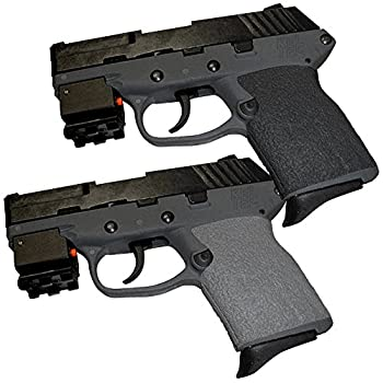 Tractiongrips Grip Overlays in Black for Kel-Tec P11 and P40 Pistols