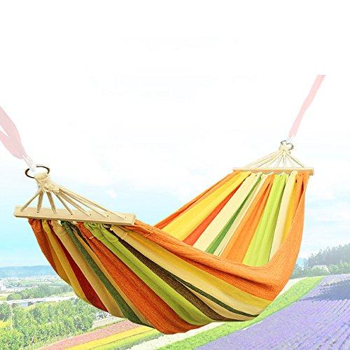 OYYTY Outdoor Hamac de Voyage Ultra Light 2,5 * 1 M Tapis 150 kg de Charge maximale Kit avec Fixation pour Voyage, Camping, Jardin, Trekking, Plage, Travel De Hammock