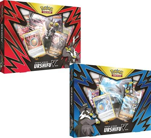 Pokemon TCG: Caja de Urshifu V de golpe único/rápido - Uno al azar