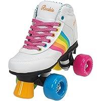 Rookie Forever Rainbow V2 Patines, Niños, Blanco/Multicolor, 35,5