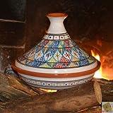 YODECO Tajine Bakir Royal pã ¢ Te da Fuoco–D 31cm...