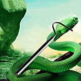Yuema Serpent Catcher Crochet Serpent, 68 cm Argent, en Acier...