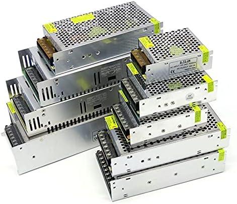 Transformador De Potencia DC 2 4V 1A 2A 3A 5A 10A 20A 30A 40A Powe Supply 2 5W 50W 60W 100W 120W 150W 250W 350W 500W 600W 800W 1000W Fuente de alimentación conmutada Transformador De Voltaje