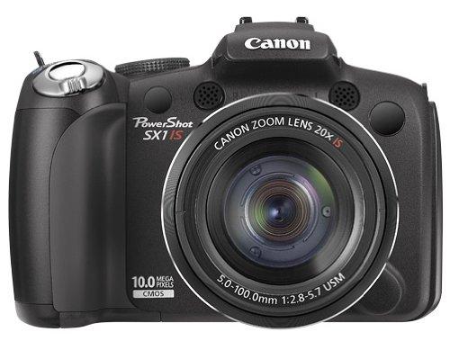 Canon PowerShot SX1 IS Digitalkamera (10 Megapixel, 20-fach optischer Zoom, 2,7