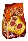 Terepin- Galletas Pepas con Dulce de Membrillo- Las Galletas Ideales para Todo el Día - Pack de Tres Unidades de 200 Gramos