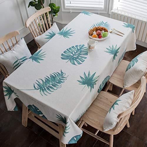 Nordic Minimalist Nappe En Coton De Coton Tissu Étanche À La Rectangle Table Cover Lavable Nappe De Table Dîner Cuisine Décor À La Maison (taille : 130 * 180cm)