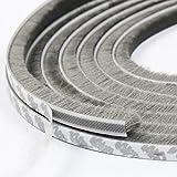 Comius Sharp burlete para Puerta, Tira de Sellado Autoadhesivo, protegerse del Viento, a Prueba de Polvo, insonorizado Amortiguador de Sonido (9 * 23MM,6M)