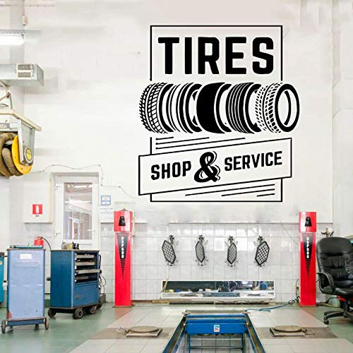 sanzangtang Tire winkel en service auto service vinyl sticker roll band reparatie auto venster sticker waterdicht